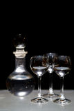 butelki szkieł trzy ajerówka Obraz Stock