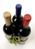 butelki trzy Zdjęcia Stock