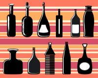 butelki wektora Fotografia Stock
