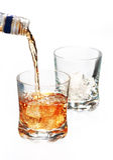 butelki whisky Obraz Stock