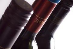 butelki wina Zdjęcia Stock