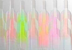 butelki wina abstrakcyjne Fotografia Royalty Free