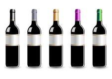 butelki wino ilustracji