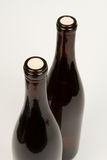 butelki wino dwa Obraz Stock