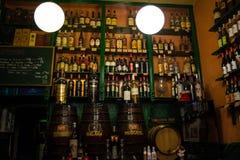 Butelki wino i inni duchy Zdjęcie Royalty Free