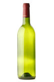 butelki wino pusty odosobniony obraz stock