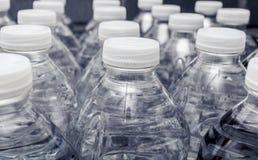 Butelki wody zakończenie Obraz Stock