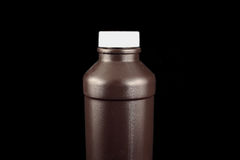 butelki z brązu Zdjęcie Royalty Free