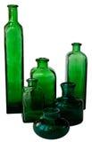 butelki zieleń zdjęcie stock