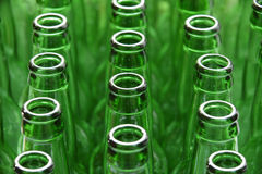 butelki zieleń Obrazy Stock