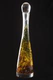 butelki ziele nafciana oliwka Fotografia Stock