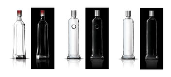 butelkuje ajerówkę Fotografia Stock