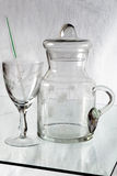 Glassware Zdjęcia Royalty Free