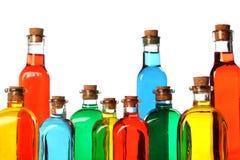 butelkuje kolorowego szkło Zdjęcie Stock