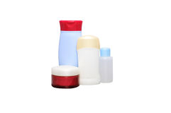 butelkuje kosmetyk tubki Obrazy Stock