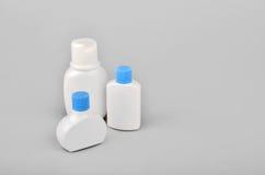 Butelkuje piękno produkty Fotografia Stock