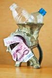 butelkuje przetwarzającego mincer klingeryt Obrazy Royalty Free