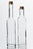 butelkuje szkło Zdjęcia Royalty Free
