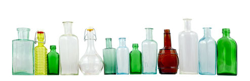 butelkuje szkło Zdjęcie Stock