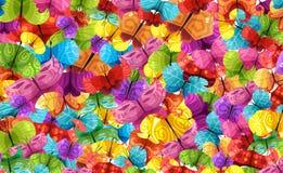 buterflies wzór Zdjęcie Royalty Free