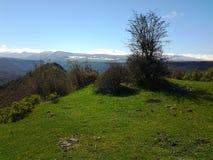 Butiful mountine w Armenia Lori Fotografia Royalty Free