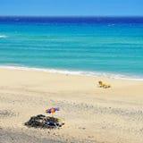 Butihondo Beach in Fuerteventura, Canary Islands, Spain Stock Photo