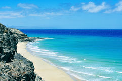 Butihondo Beach in Fuerteventura, Canary Islands, Spain Stock Photo