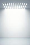 Butik pusta gablota wystawowa Obraz Royalty Free