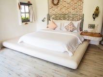 Butik stylowa sypialnia zdjęcia royalty free