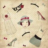 butika mody ustalony rocznik Zdjęcia Royalty Free