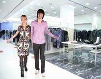 butika ubrań para Fotografia Stock