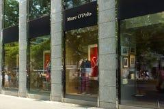 Butike Marc O'Polo auf Kurfuerstendamm Stockbild