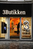 3Butikken 免版税库存图片