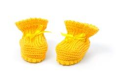 Butins jaunes de chéri Photos libres de droits