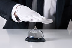 Butler bell Royalty Free Stock Photo