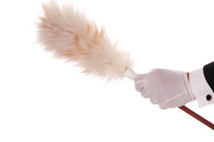 Butler with Duster Stock Photography