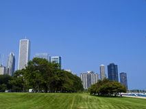 Butler Field, Chicago. Butler Field Park, Chicago, United States of America Stock Photography
