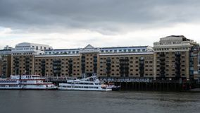 Butler`s Wharf frontage royalty free stock images