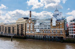 Butler's Wharf historic building in London Stock Image