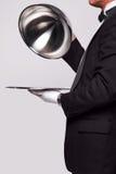 Butler- und Silberservice Lizenzfreie Stockfotografie