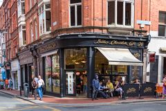 Butlers Chocolate cafe at Wicklow street and William St at the city center of Dublin.