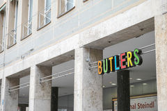 Butlers munich Royalty Free Stock Photo