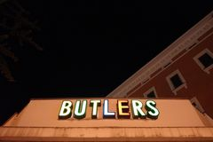 Butlers at night