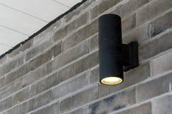 Butli ściany światło Zdjęcie Stock