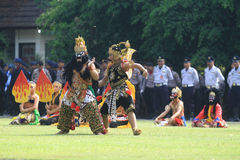Buto Cakil Dance Stock Image