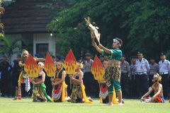 Buto Cakil Dance Stock Photography