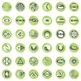 Buton design Stock Photo