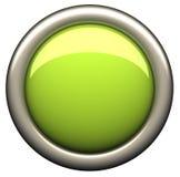 Buton verde ilustração royalty free