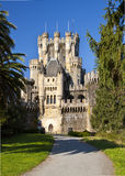 Butrón is a castle located in Gatika. Royalty Free Stock Photo