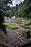 Butrint центры ` s Албании главные археологические стоковые фото